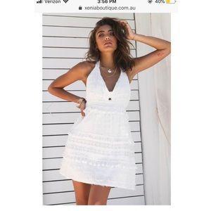 Kindred Heart Dress (White) 10/M